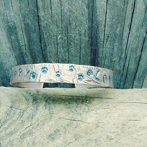 Copper bracelet for puppy lovers